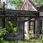 Abandoned building near Merapi Volcano
