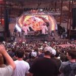Live concert at Red Rocks