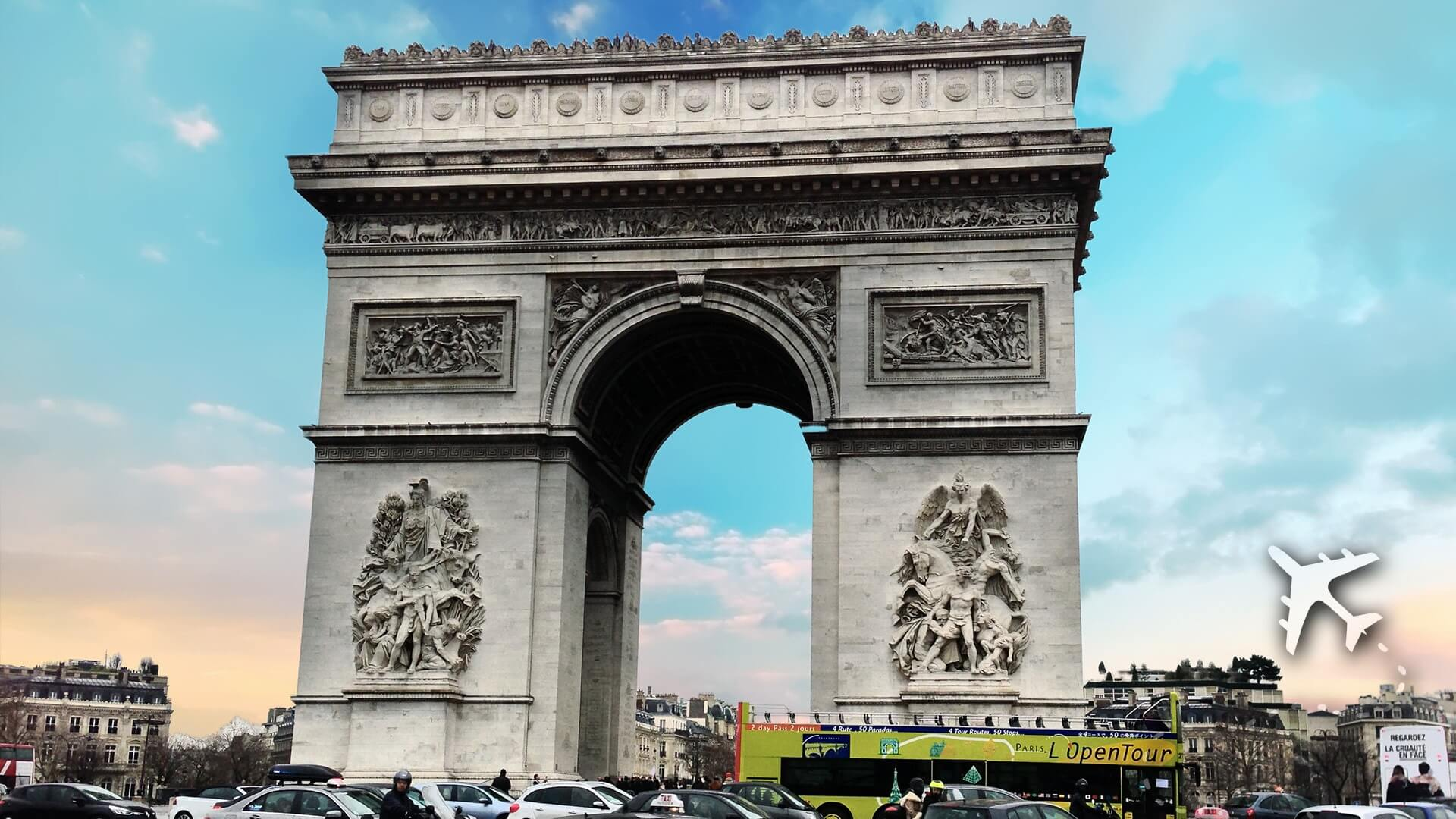 France's Arc de Triomphe