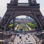 Eiffel Tower in Spring