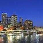Brisbane, Australia city center