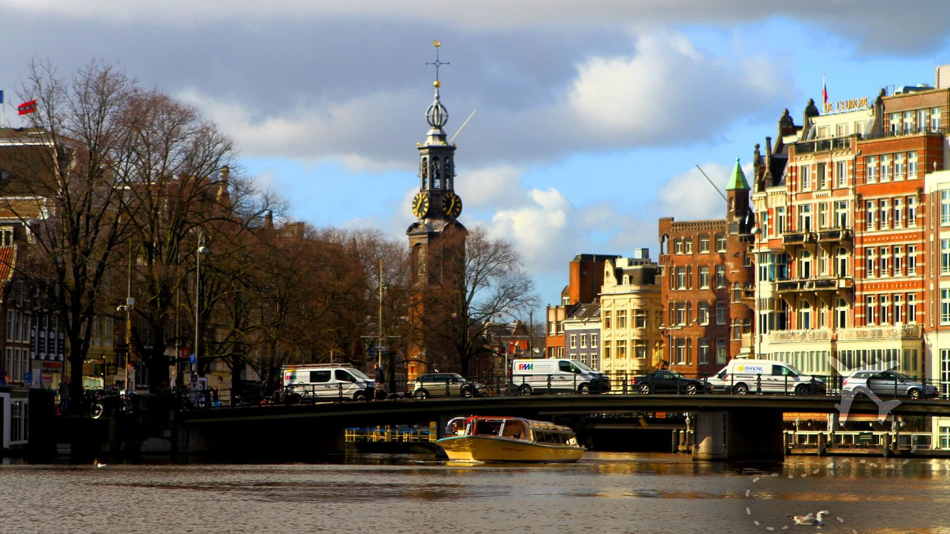 Amsterdam by canal boat