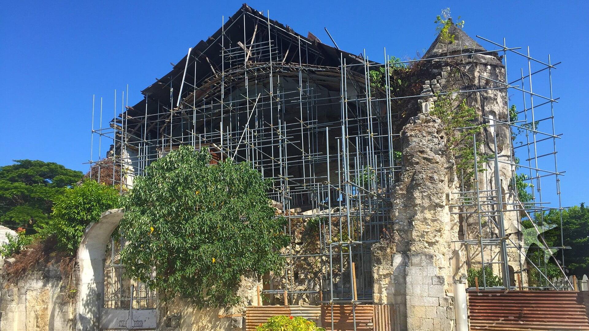 Earthquake devastation on Bohol