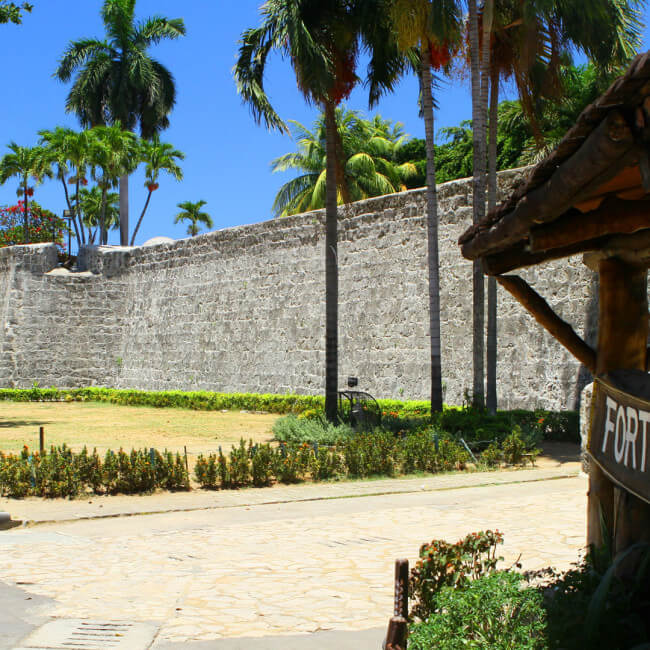 Entrance of Fort San Pedro, Cebu