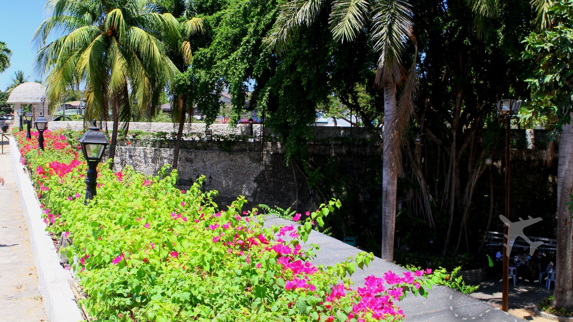 Terrace of Fort San Pedro