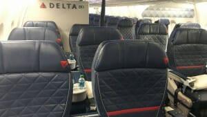 Delta First Class Cabin A321