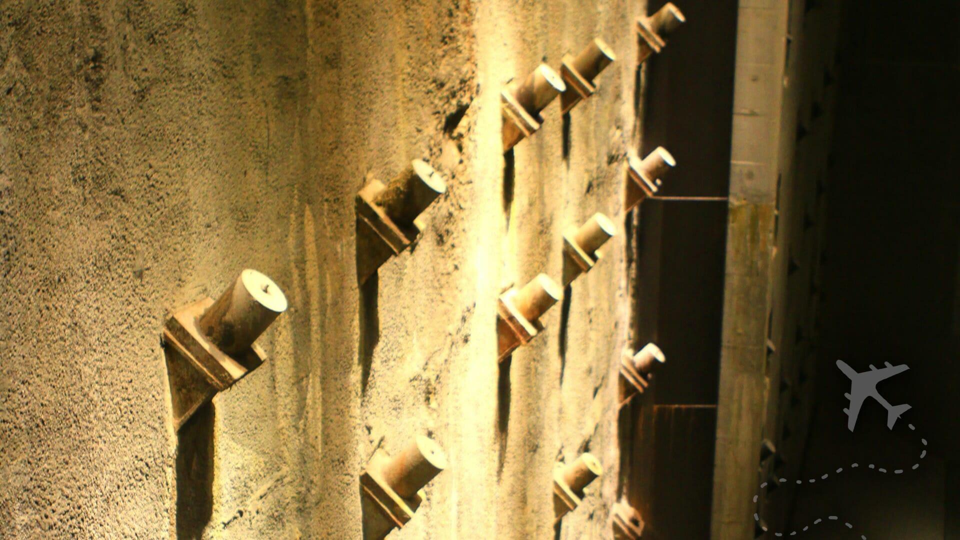 World Trade Center Original Tie Backs