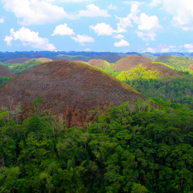 Chocolate Hills on Bohol Island