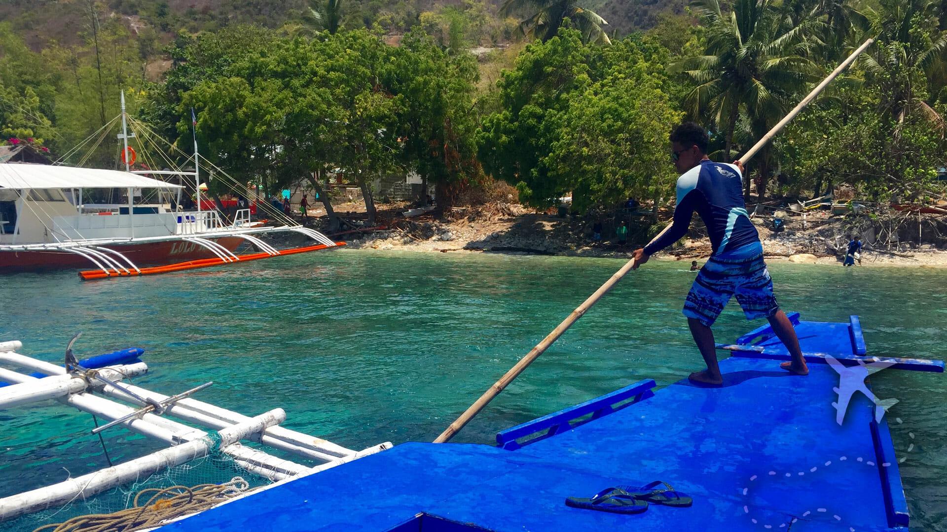 Sumilon Island Sand Bar in the Philippines