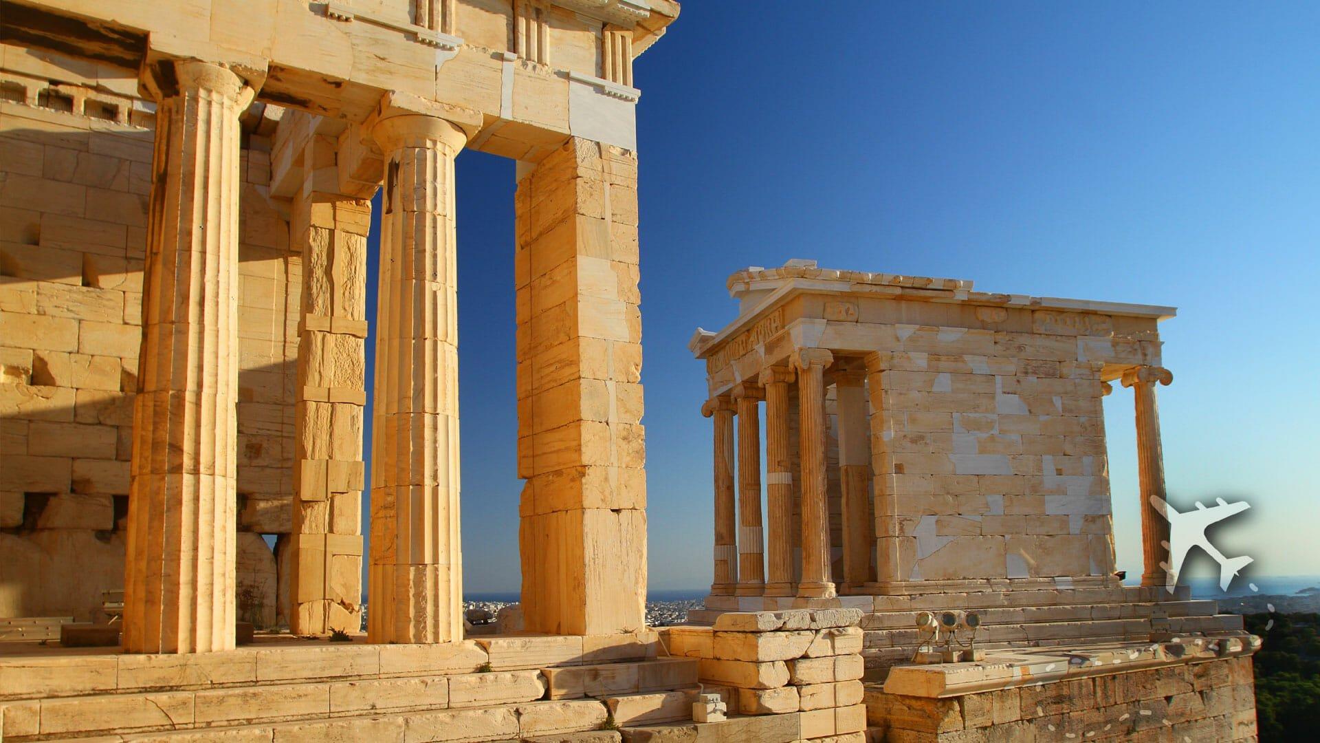 Propylaea & Temple of Athena Nike of Acropolis