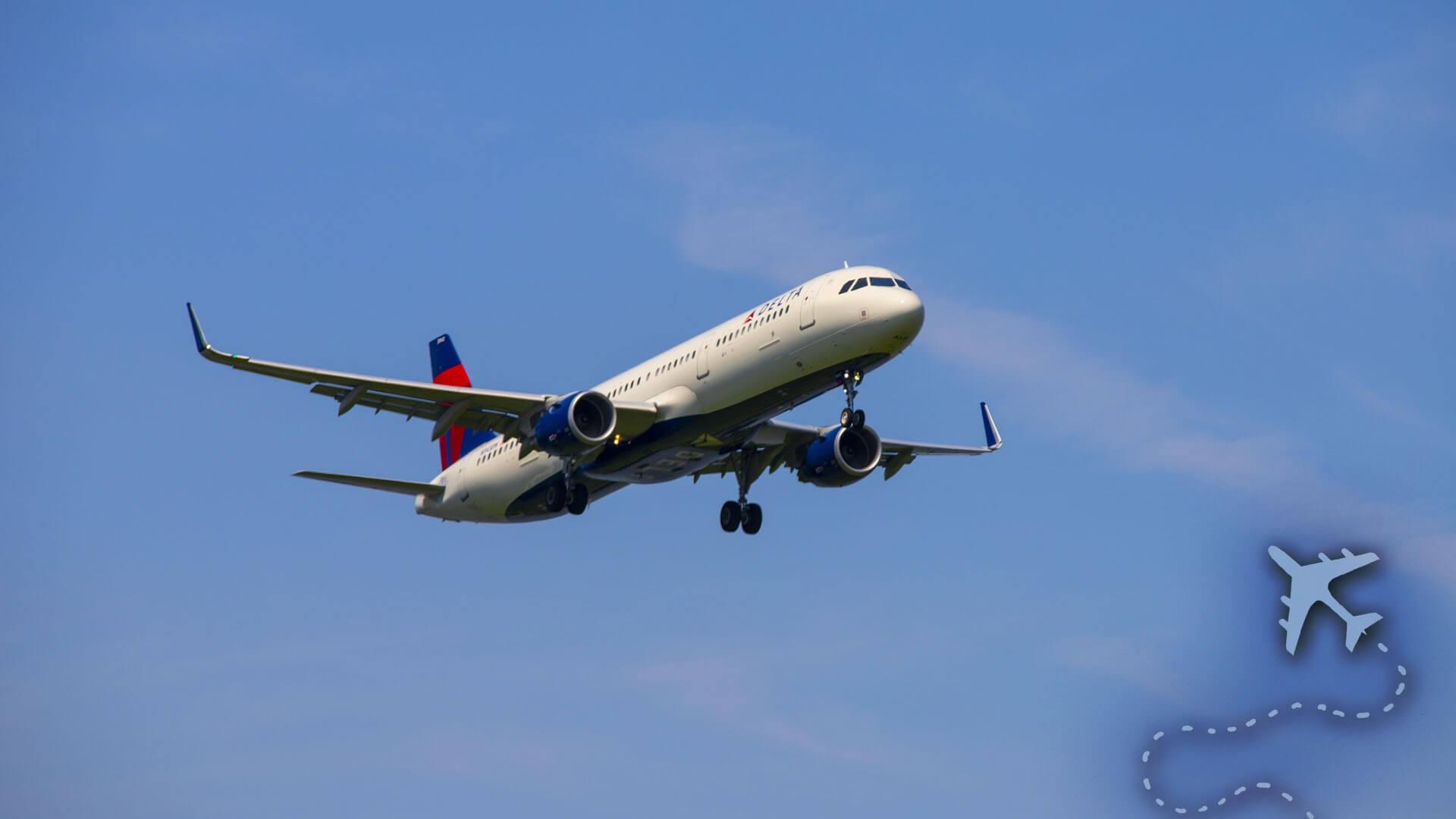 Delta Airlines Airbus 321