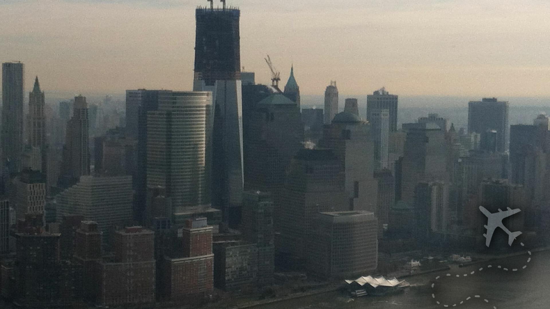 Ground Zero in NYC
