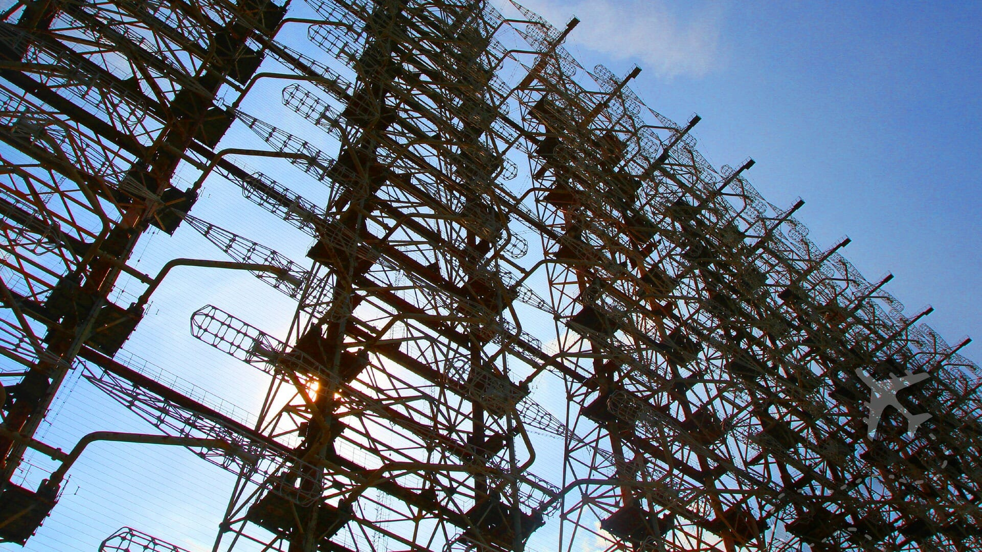 50-story tall Duga-1 radar array