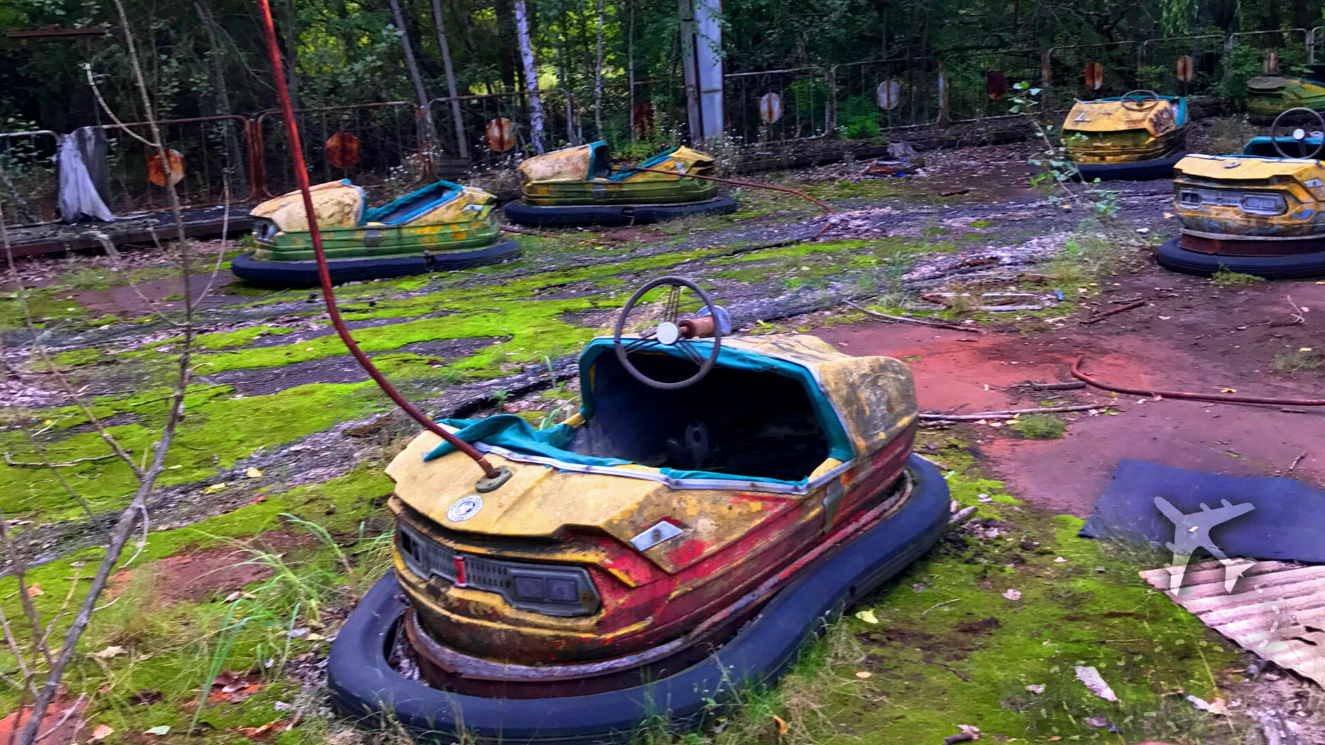 Amusement park at Pripyat