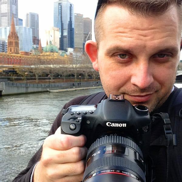Sean Brown in Melbourne, Australia