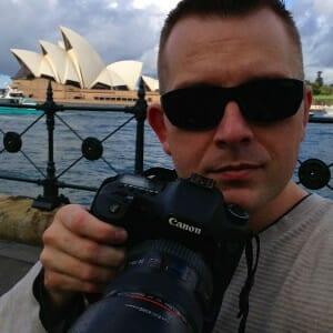Sean Brown in Sydney, Australia