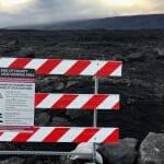 Kilauea Hawaii Big Island lava field hiking