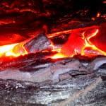 Kilauea lava flow on Hawaii's Big Island