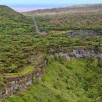 Twin craters on Galapagos islands