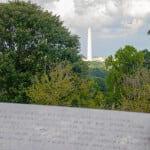 Washington monument from Arlington National Cemetery