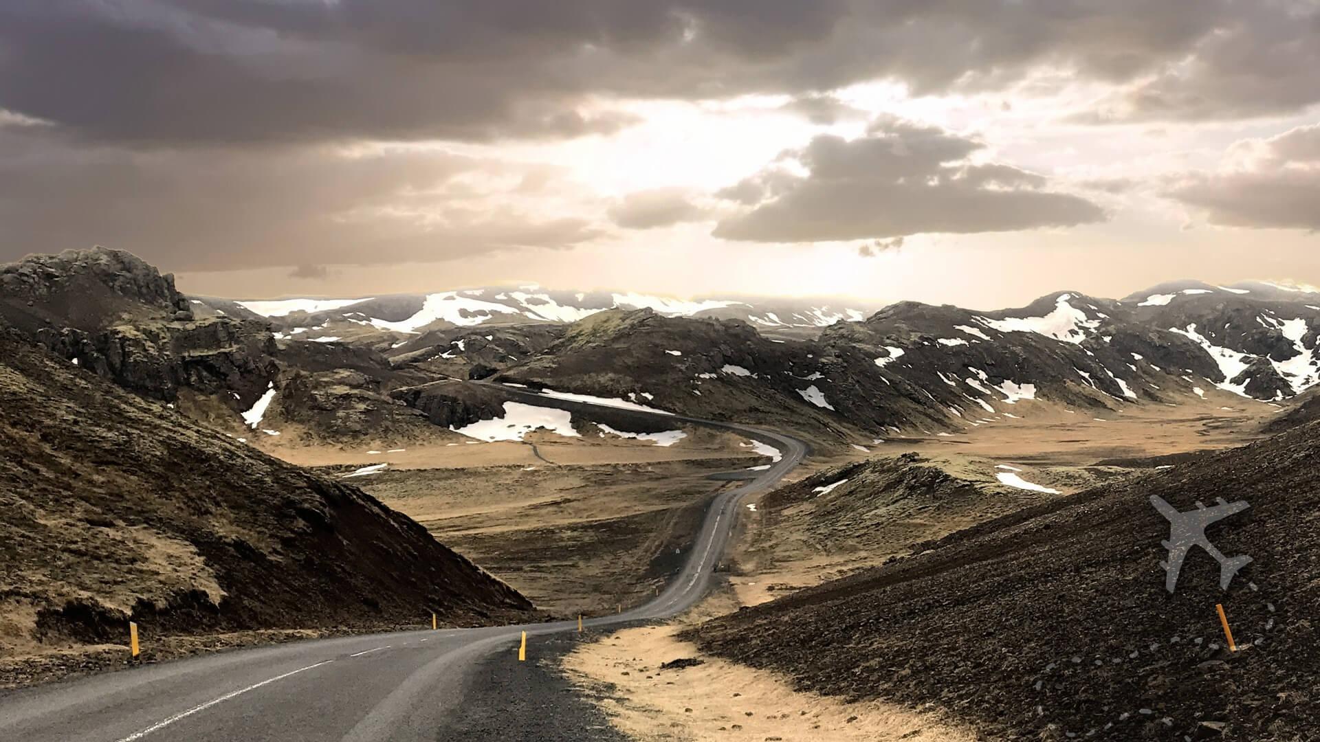 Iceland's volcanic landscape