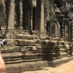 Sean Brown in Angkor Wat