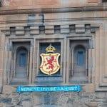 Edinburgh Castle during Hogmanay festival