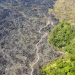 Lava flows of Mount Batur