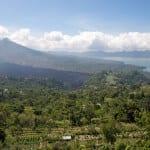 Mount Batur in Indonesia