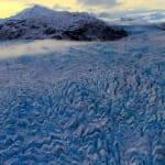 Ice fields of Knik Glacier